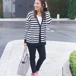 Styling a Striped Cardigan for Spring