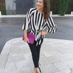 Striped Top for Work & Play