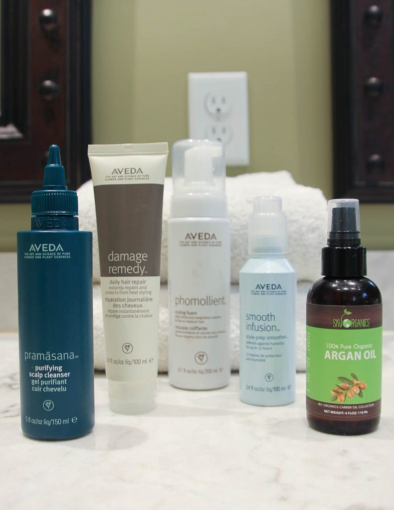 Aveda Hair Products Review | Haircare Routine | Houston Fashion Blogger Lady in Violet