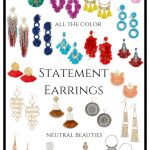 Currently Coveting: Summer Statement Earrings