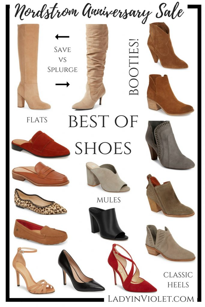 Nordstrom anniversary sales best shoes | Best Shoes of the Nordstrom Sale | Houston Fashion Blogger Lady in Violet
