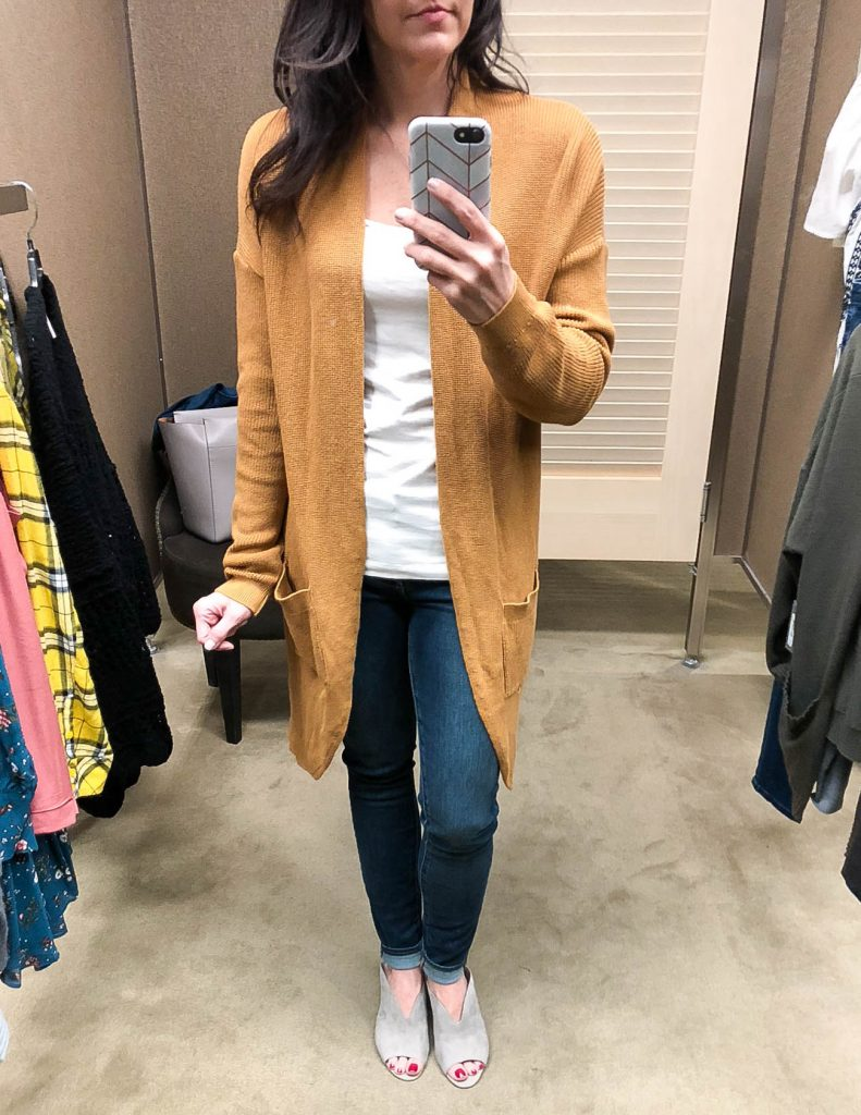 fall outfit | long cardigan | nordstrom anniversary sale | Houston Fashion Blogger Lady in Violet