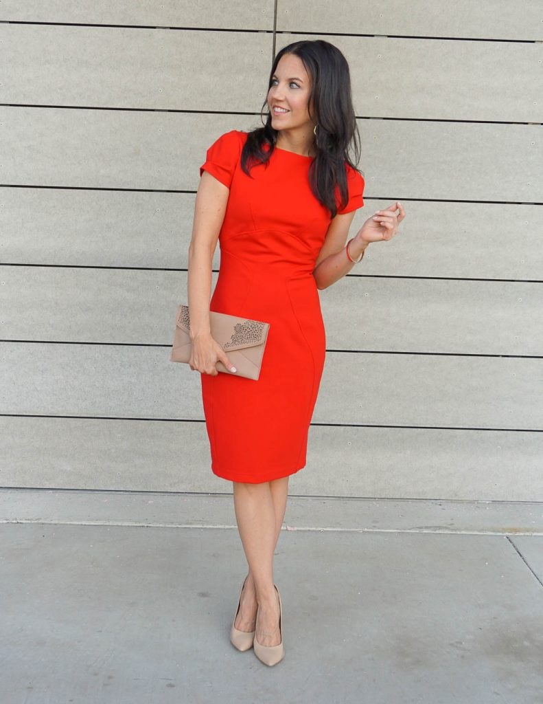 Little Red Dress | Cocktail Attire | Date Night Outfit | Houston Fashion Blogger Lady in Violet