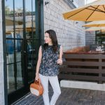 NSale Inspired: Wear Now Navy Floral Top