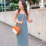 Striped Maxi Dress + GIVEAWAY!