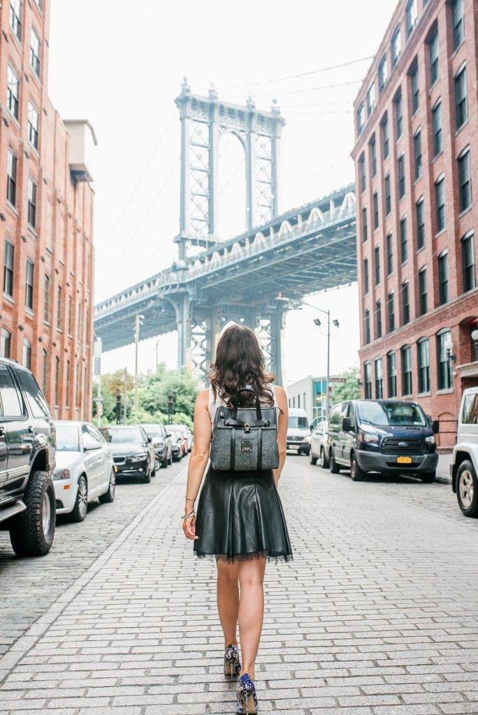 new york street style | henri bendel jetsetter bag | nyfw outfit | Houston Fashion Blogger Lady in Violet