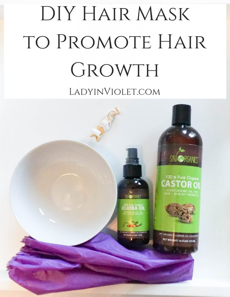 Diy Hair Mask To Promote Hair Growth Lady In Violetlady In