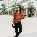 Fall Trend: Polka Dot Top