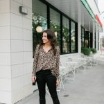 Leopard Print Blouse Under $50