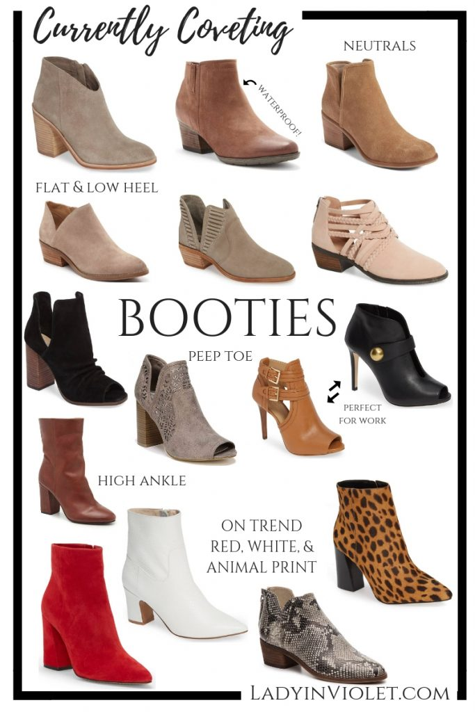 Fall Booties | Peep Toe Booties | Neutral Boots | Trendy Boots | Houston Fashion Blogger Lady in Violet
