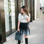 Bow Tie Top + Flared Skirt & BLACK FRIDAY SALES!
