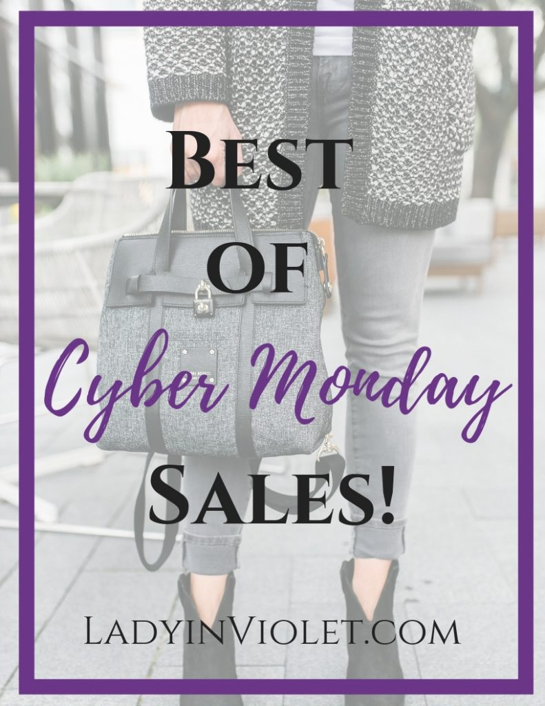 best cyber monday sales 2018 | Fashion Sales | Holiday Sales | Houston Fashion Blogger Lady in Violet
