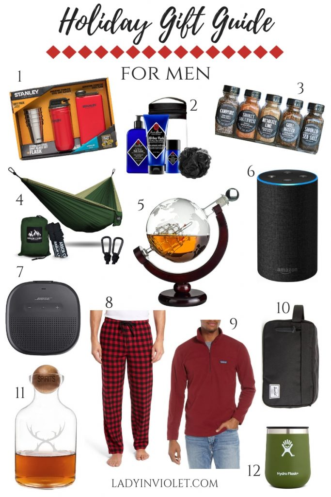 christmas gift ideas for men | holiday gift guide for men | Houston Blogger Lady in Violet