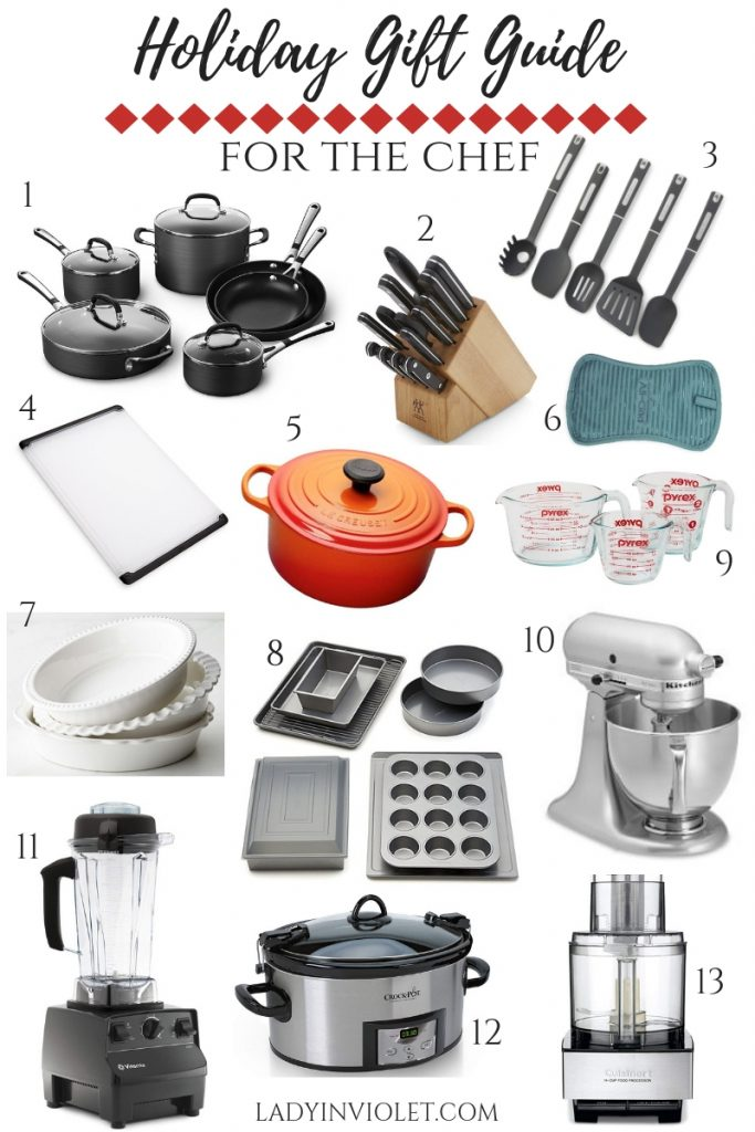 christmas gift ideas for the chef | gift ideas for cooking and baking | gift ideas for the kitchen | Houston Fashion Blogger Lady in Violet