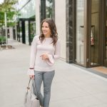 Workwear: Blush Pink Sweater