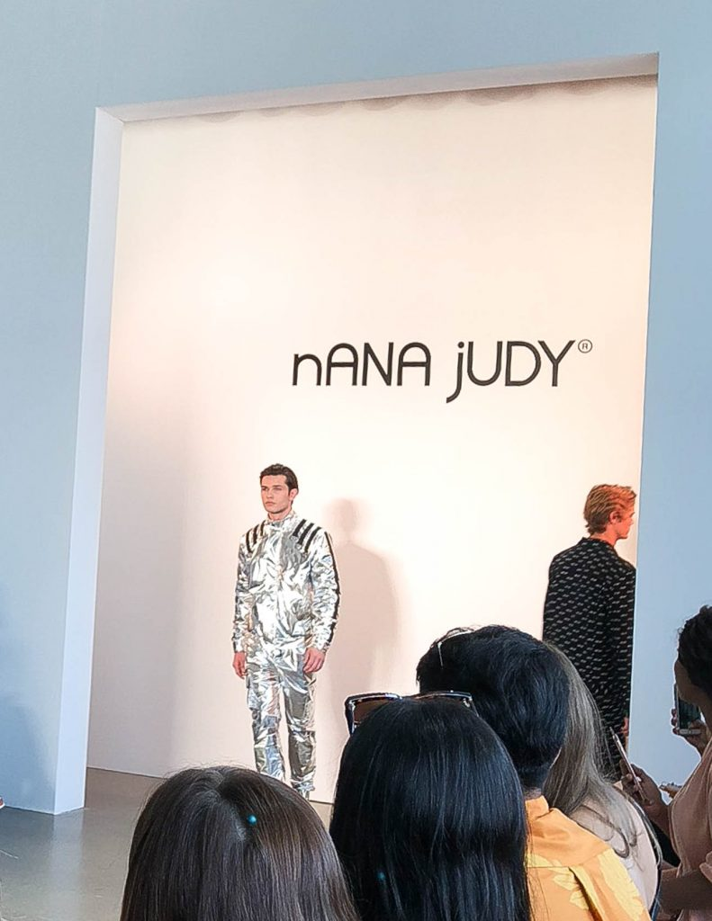 nana judy nyfw runway show | Houston Fashion Blogger Lady in Violet