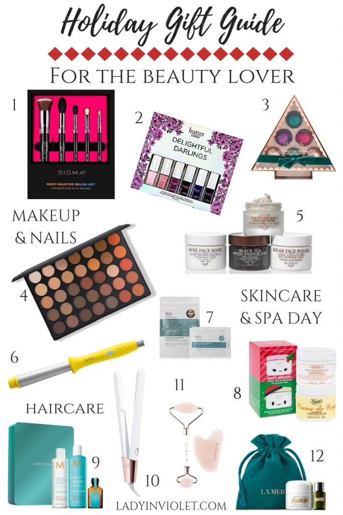 beauty gift ideas for christmas | holiday gift guide | beauty gift ideas | Houston Fashion Blogger Lady in Violet