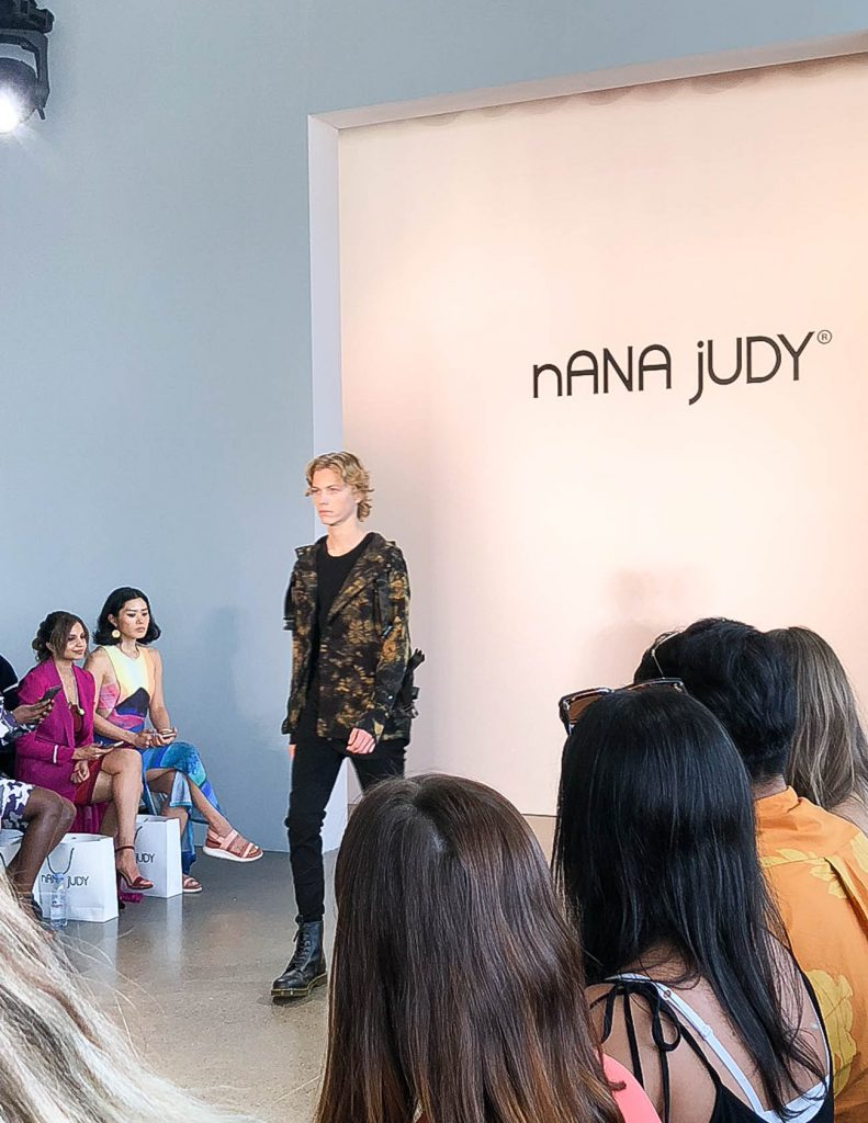 nana judy nyfw 2018 runway show | Houston Fashion Blogger Lady in Violet