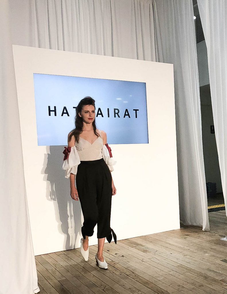 hathairat nyfw 2018 runway show | Houston Fashion Blogger Lady in Violet