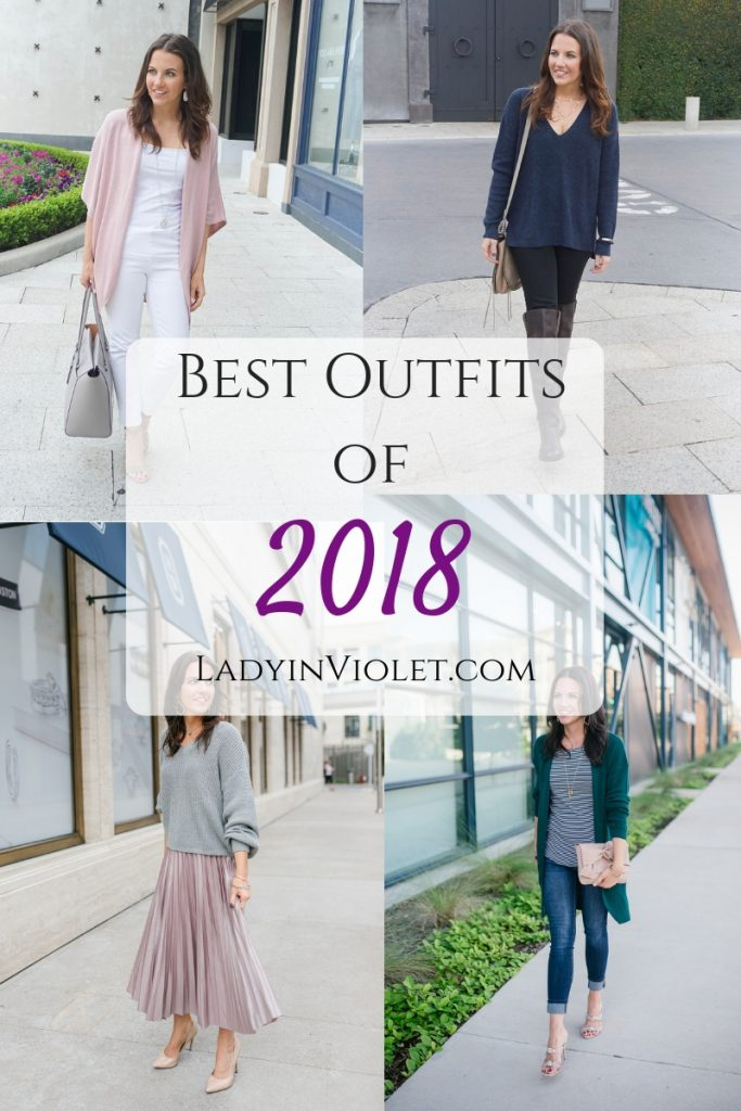 top outfits of 2018 | best outfits of 2018 | Houston Fashion Blogger | Petite Style | Lady in Violet