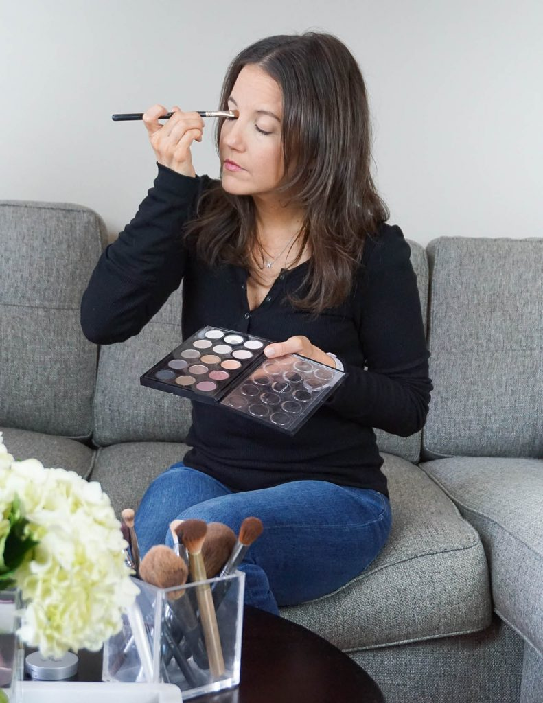 everyday eye makeup how to | Houston Beauty Blogger Lady in Violet