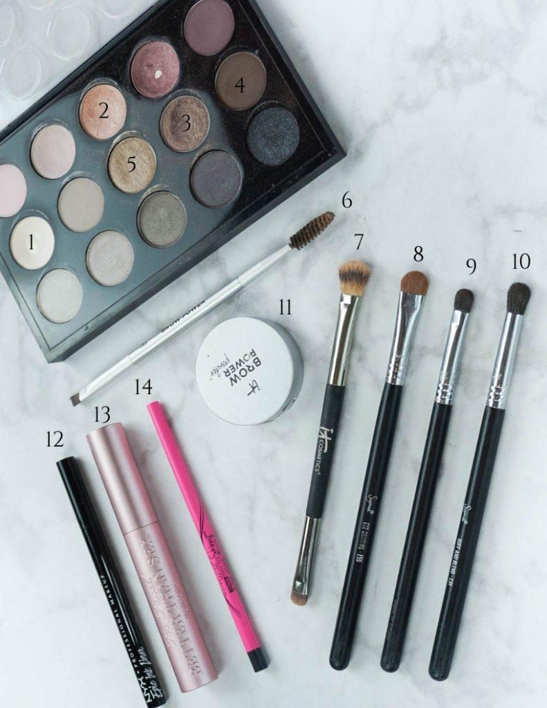 mac eyeshadow palette | makeup brushes | eye makeup tutorial | Houston Beauty Blogger Lady in Violet