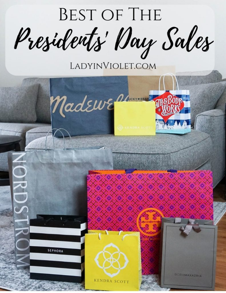 Best Presidents Day Sales 2019 | Houston Fashion Blogger Lady in Violet