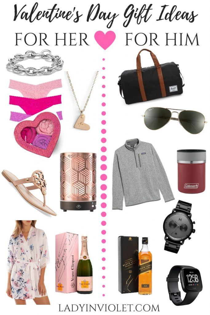 Valentine's Day Gift Ideas for her and him | Houston Blogger Lady in Violet