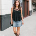 Rodeo Outfit with Cowboy Boots