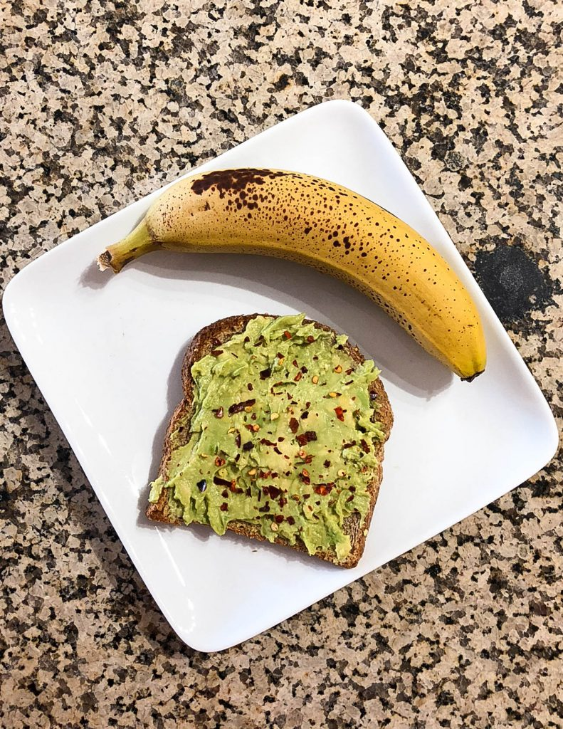 healthy breakfast idea | avocado toast | Houston Blogger Lady in Violet