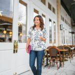Casual Floral Top for Spring