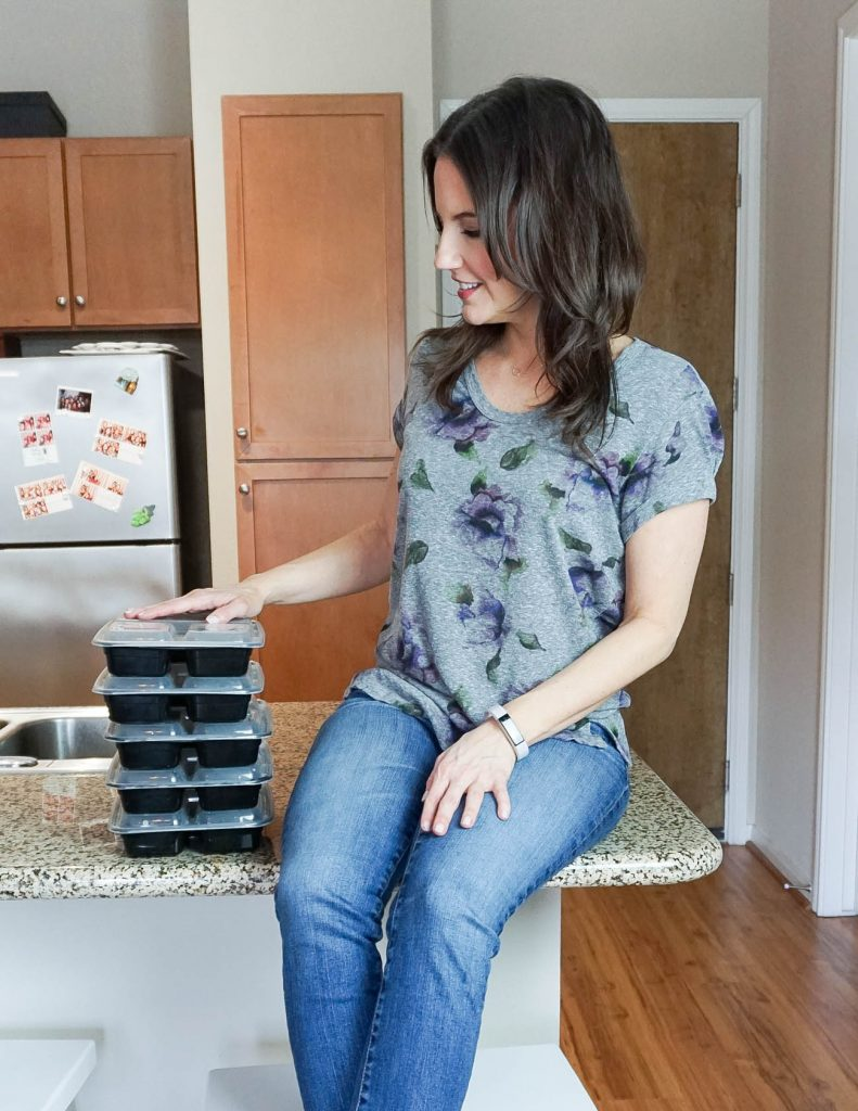 meal prep tips for beginners by Houston Lifestyle Blogger Lady in Violet