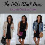 Styled 3 Ways: Little Black Dress