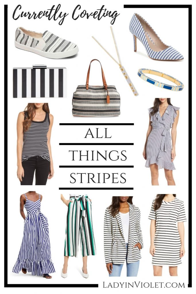 currently coveting all things stripes | spring fashion trends | Houston Fashion Blogger Lady in Violet