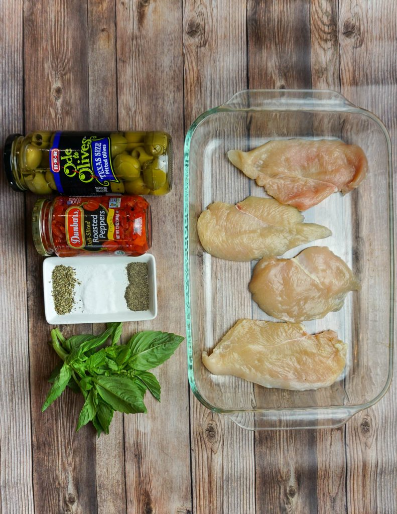 italian chicken recipe under 10 ingredients | paleo and whole 30 | LadyinViolet.com