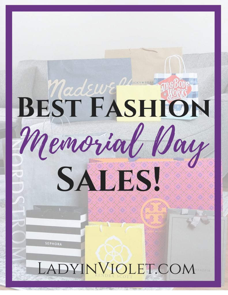 best fashion memorial day sales