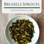 Asian Style Brussels Sprouts