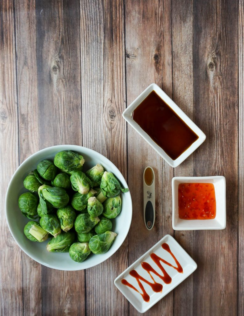 easy brussels sprouts side dish recipe | Food Blogger Lady in Violet