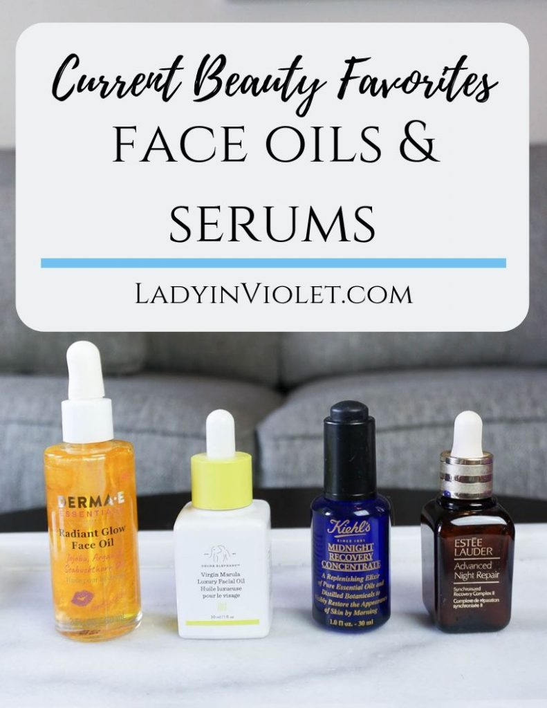 best anti-aging face oils and serums | Houston Beauty Blogger Lady in Violet