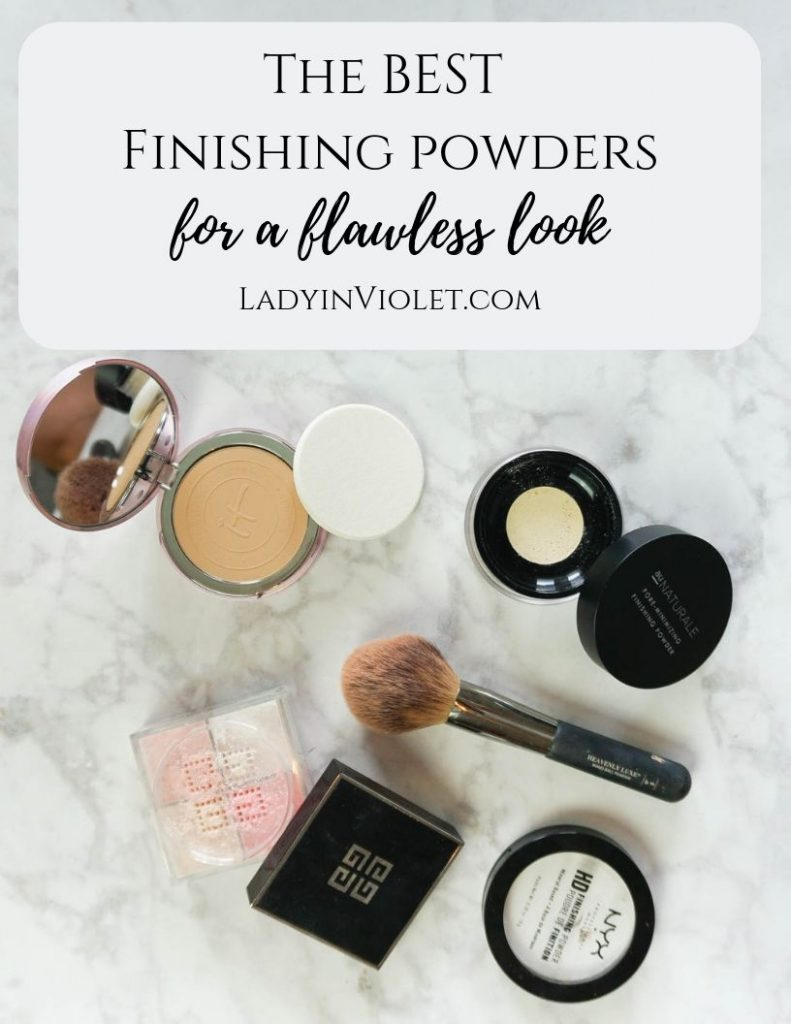 best finishing powders for a flawless look | Houston Beauty Blogger Lady in Violet