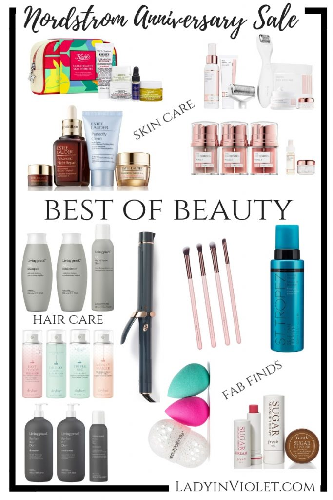 Nordstrom Anniversary Sale Beauty Favorites | Houston Beauty Blogger Lady in Violet