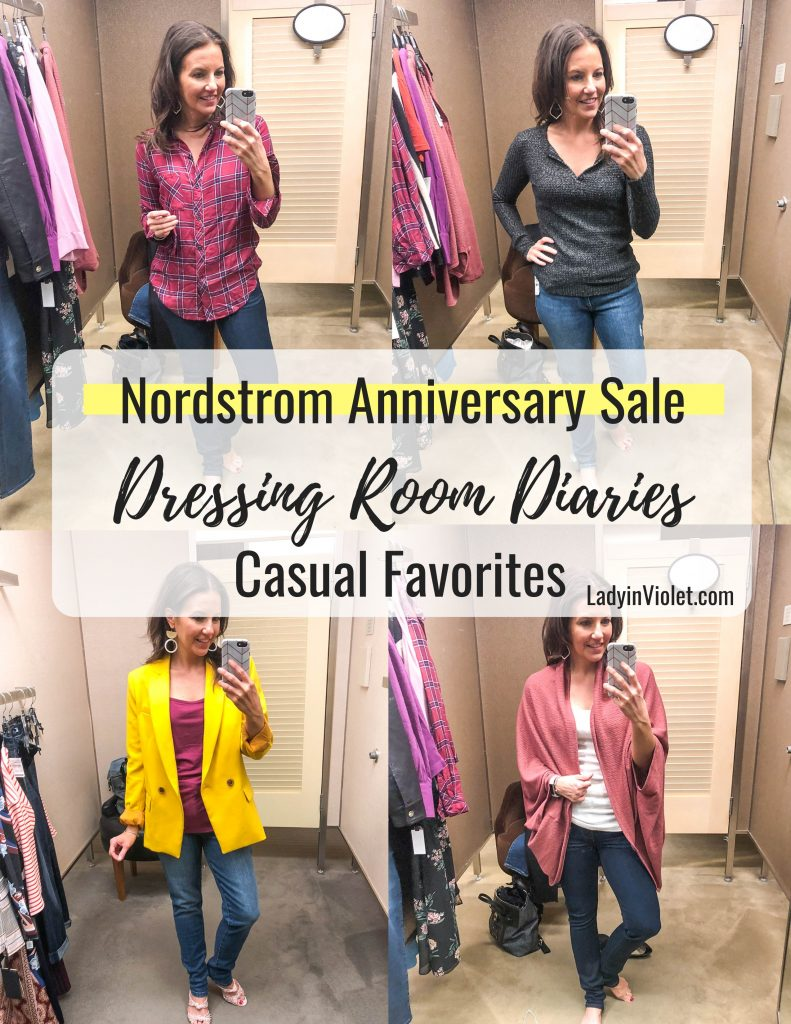 Nordstrom Anniversary Sale Casual Favorites | Nsale Jeans | Best Tops for Fall | Houston Fashion Blogger Lady in Violet
