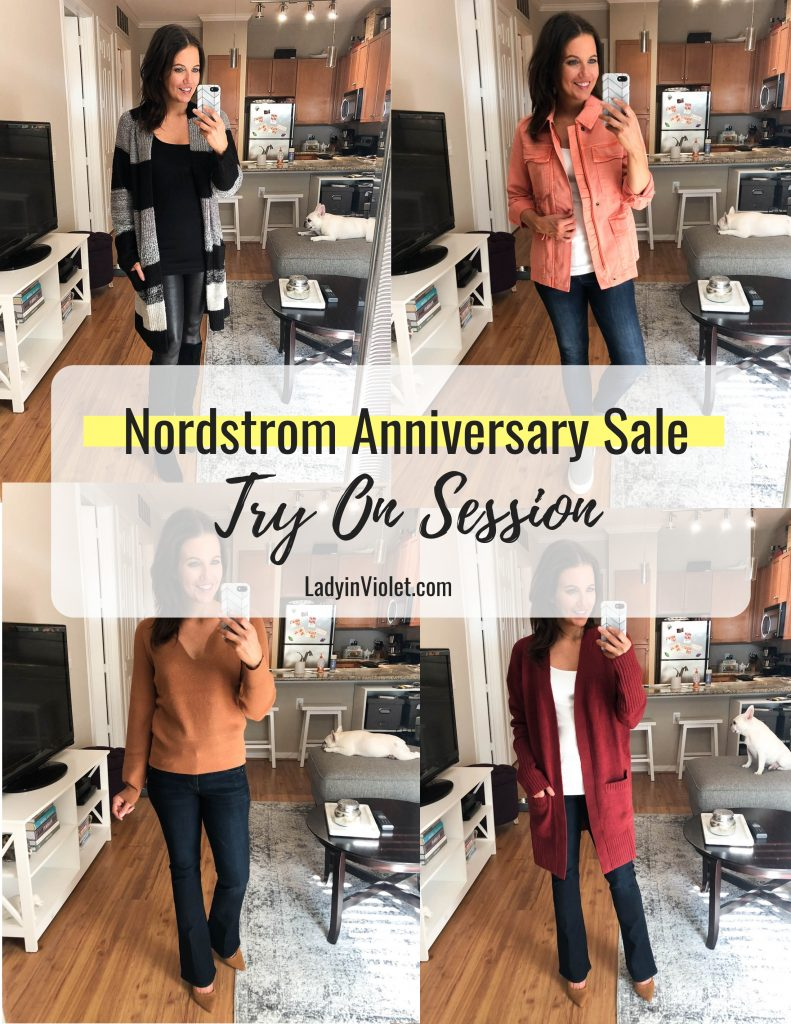 Nordstrom Anniversary Sale Fall Outfit Ideas | Petite Fashion Blogger Lady in Violet