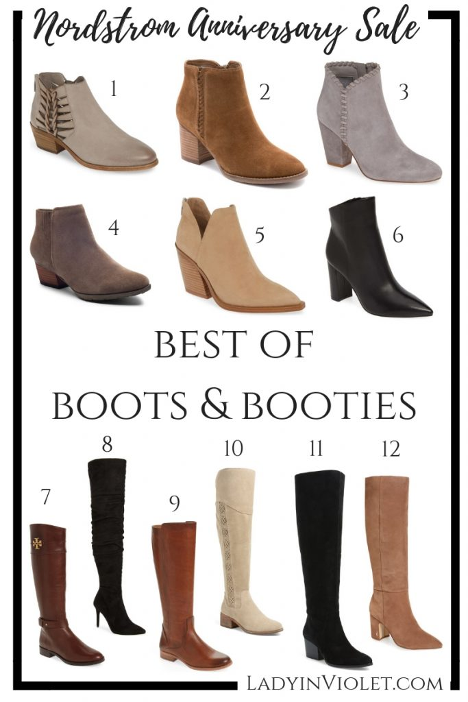 nordstrom anniversary sale | best boots and booties of the nsale | Houston Fashion Blogger Lady in Violet