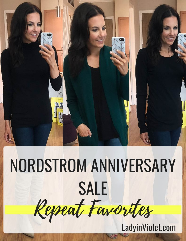 nordstrom anniversary sale repeat favorite items | Affordable Petite Fashion Blogger Lady in Violet
