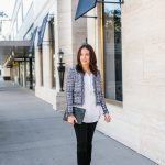 A Chic Way to Style a Cropped Jacket