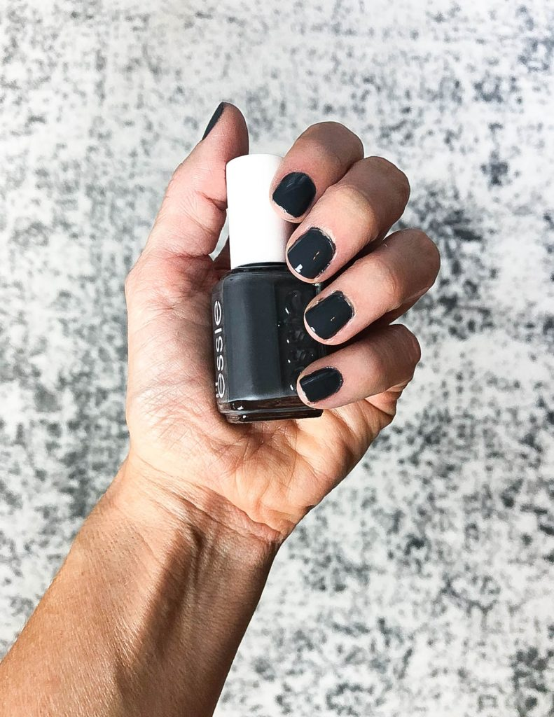 gray nail polish | top nail colors for fall | essie nail polish | Texas Beauty Blog Lady in Violet