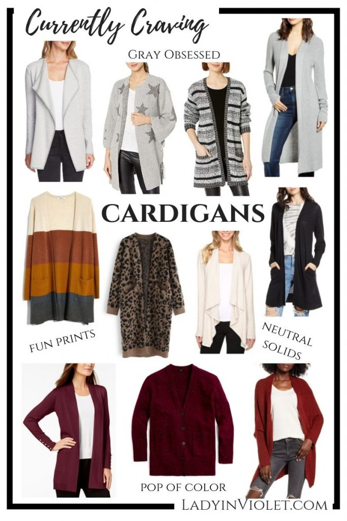 current craving - fall wardrobe stape - long cardigans | Affordable Fashion Blog Lady in Violet