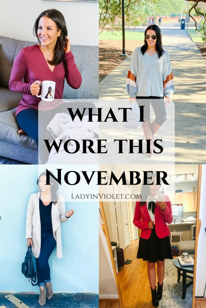 Daily Outfit Ideas | Fall Outfits | Everyday Fashion Blog Lady in Violet
