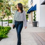 70s Inspired Outfit: Bell Sleeve Top